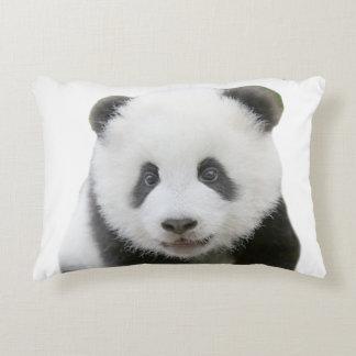 Panda-Gesicht Dekokissen
