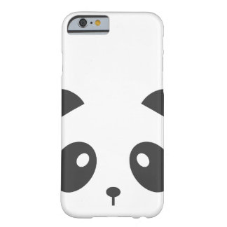 Panda-Gesicht iPhone Fall Barely There iPhone 6 Hülle