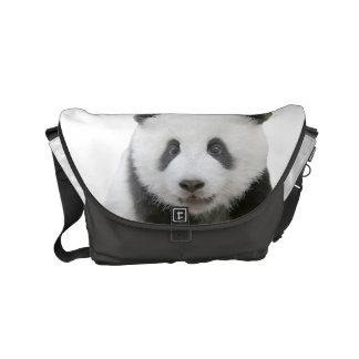 Panda-Gesicht Kurier Tasche