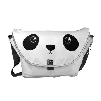Panda-Gesicht Kurier Taschen