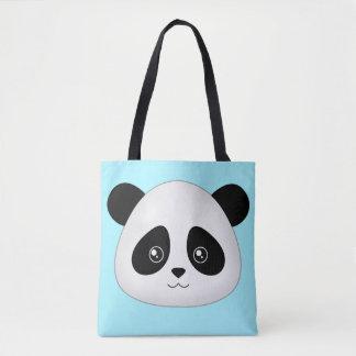 Panda-Gesicht niedlicher Kawaii Tasche