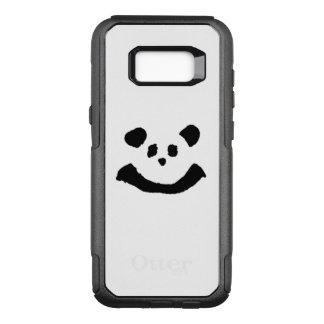 Panda-Gesicht OtterBox Commuter Samsung Galaxy S8+ Hülle