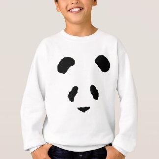 Panda-Gesicht Sweatshirt