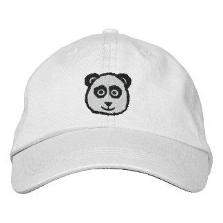 Panda gestickte Hüte Bestickte Baseballkappe