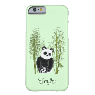 Panda im Bambus Barely There iPhone 6 Hülle