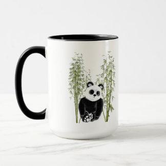 Panda im Bambus Tasse