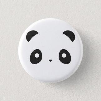 Panda-Knopf Runder Button 2,5 Cm