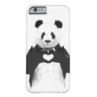 Panda-Liebe Barely There iPhone 6 Hülle