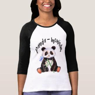 Panda - Monium Panda-Bär T-Shirt