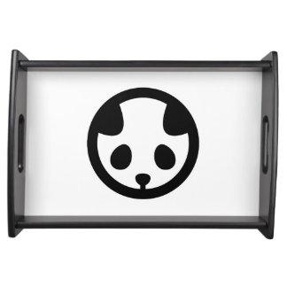Panda Montag Serviertablett