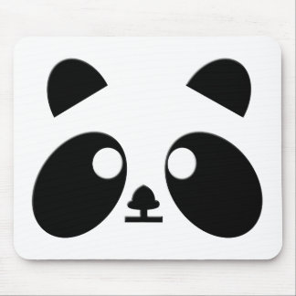 Panda mustert Kunst Mousepad