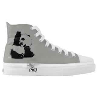 Panda-Nations-Schuhe Hoch-geschnittene Sneaker