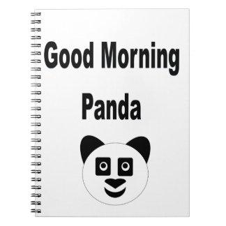 Panda-Notizbuch Notizblock