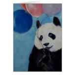 Panda-Party-Karte Grußkarte