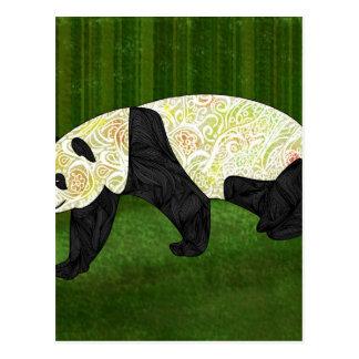 Panda Postkarte