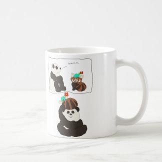 Panda-roter Panda Kaffeetasse