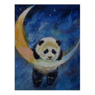 Panda-Sterne Postkarte