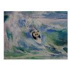 Panda-Surfer Postkarte