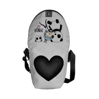 Panda-Tasche! Kurier Tasche