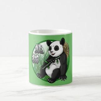 Panda u. Bambus 11-Unze-klassische weiße Tasse