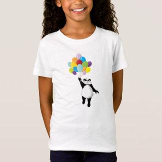 Panda und Ballone T-Shirt
