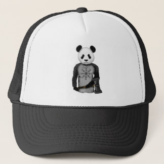 Panda-Viking-Helm der Ehrfurcht Truckerkappe