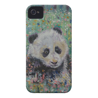 Panda-Wildblumen Case-Mate iPhone 4 Hülle