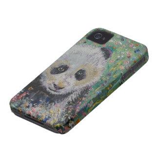 Panda-Wildblumen iPhone 4 Case-Mate Hüllen