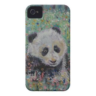 Panda-Wildblumen Case-Mate iPhone 4 Hüllen