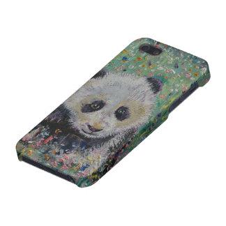 Panda-Wildblumen iPhone 5 Case