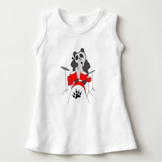 Pandamusiker Kleid