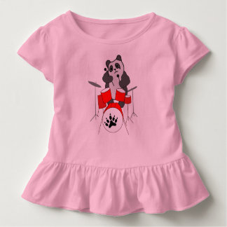 Pandamusiker Kleinkind T-shirt
