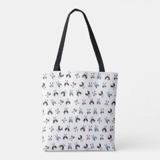 Pandamuster Tasche