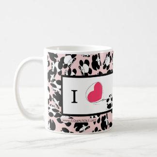 Pandas der Liebe I Kaffeetasse