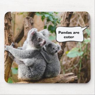 Pandas oder Koala - die niedlicher sind? Mousepad
