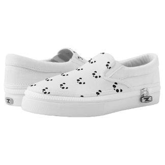 Pandaschuhe, Panda-Turnschuhe Slip-On Sneaker