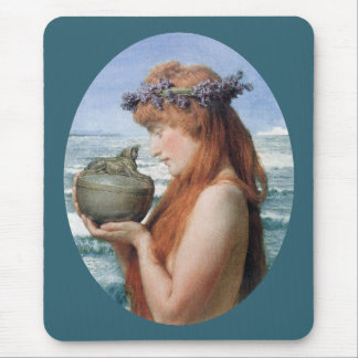 Pandora durch Alma Tadema, Vintager Romanticism Mousepad