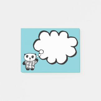 Pandy der Panda Post-it Klebezettel