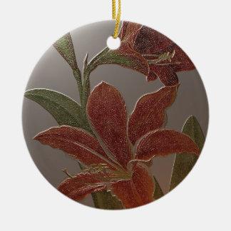 PANEL der BLUMEN Keramik Ornament