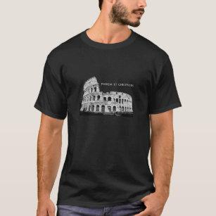 Panem und Circenses - dunkle Kleidung T-Shirt