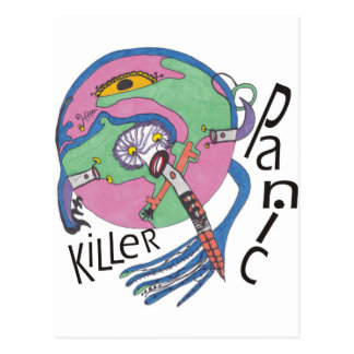 Panikmörder Postkarte