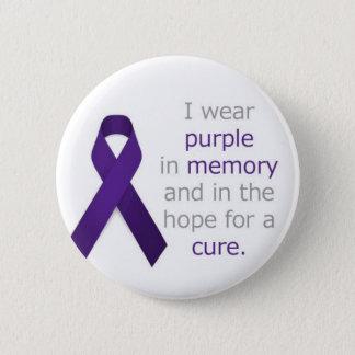 Pankreatischer Krebs-Abzeichen Runder Button 5,1 Cm