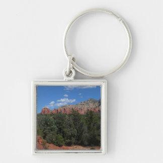 Panorama der roten Felsen in Sedona Arizona Schlüsselanhänger