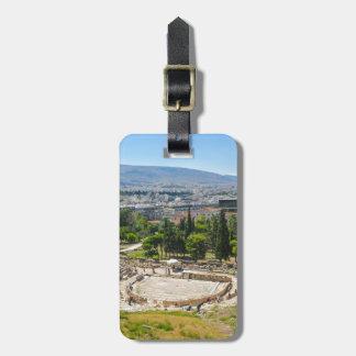 Panorama von Athen, Griechenland Kofferanhänger