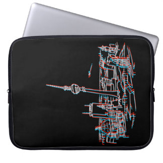 Panorama von Berlin in 3D Laptop Sleeve