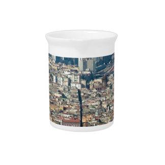 Panorama von Neapel Krug