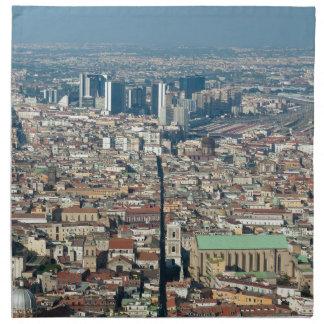 Panorama von Neapel Stoffserviette