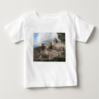 Panorama von Volterra Dorf, Toskana, Italien Baby T-shirt