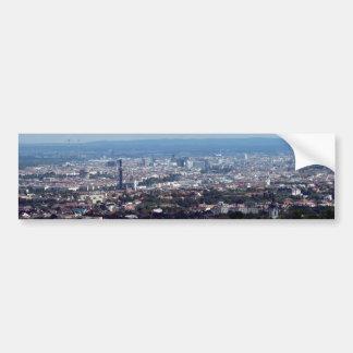 Panorama Wiens Österreich Autoaufkleber