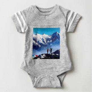 Panoramablick Ama Dablam HöchstEverest Berges Baby Strampler